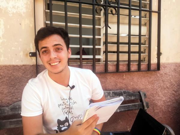 Jancel Moreno, you tuber. Comunidad LGBTQ en Cuba.