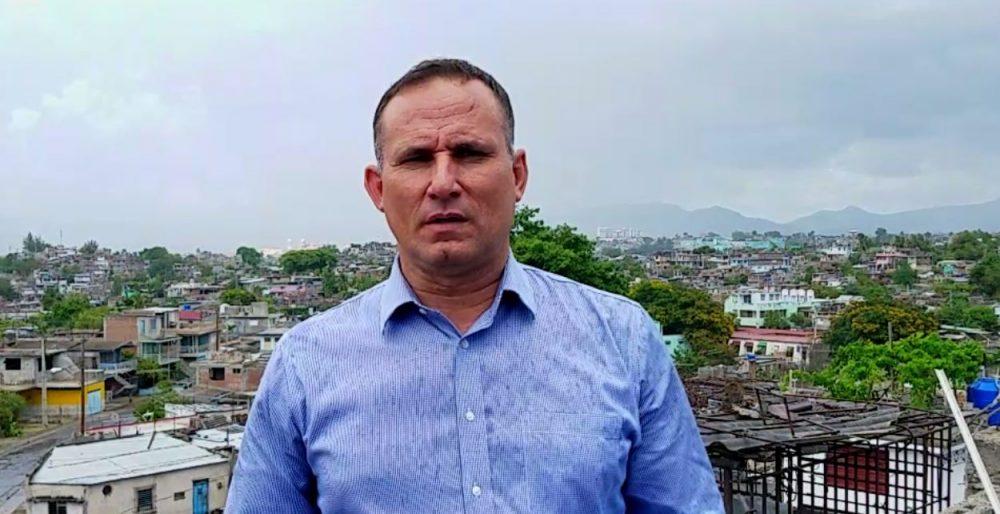 José Daniel Ferrer lider de la UNPACU en Santiago de Cuba.