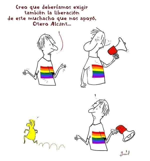 Apoyemos a Luis Manuel Otero... por Garrincha