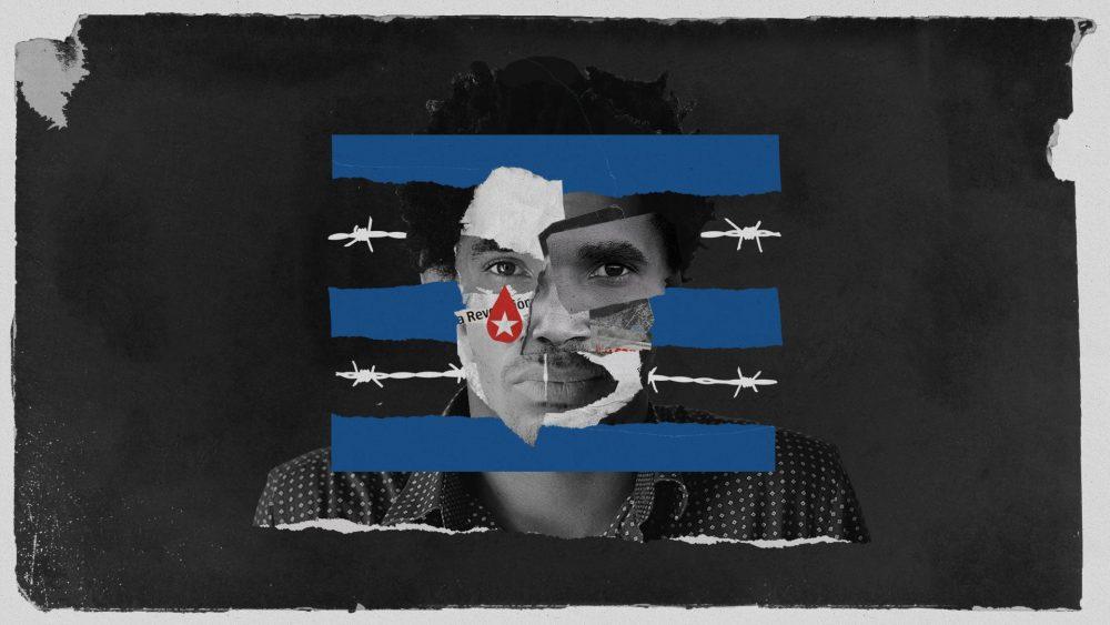 Free Luis Manuel Otero . Ilustración de Alejandro García