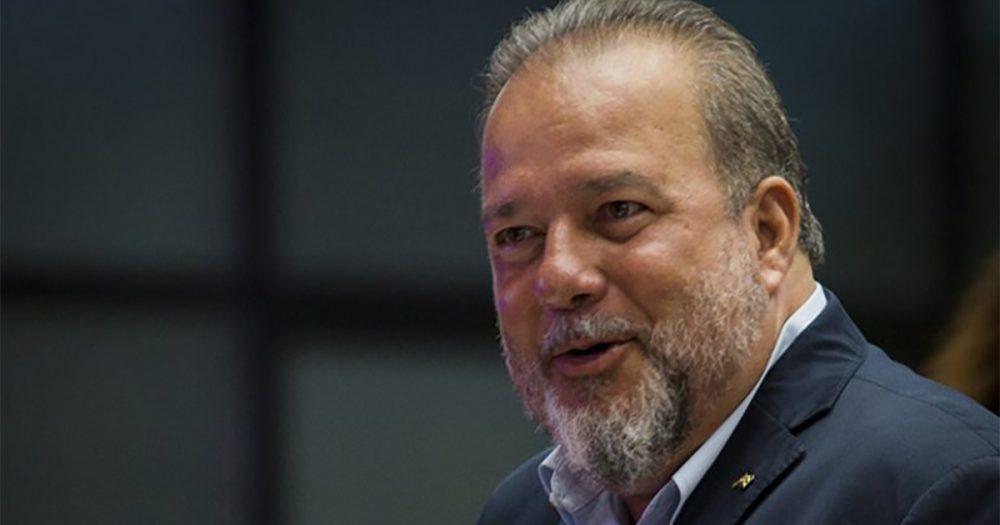 Manuel Marrero, primer ministro de Cuba. Foto: Cubadebate.