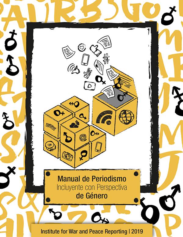 Portada Manual de Periodismo Incluyente con Perspectiva de Género