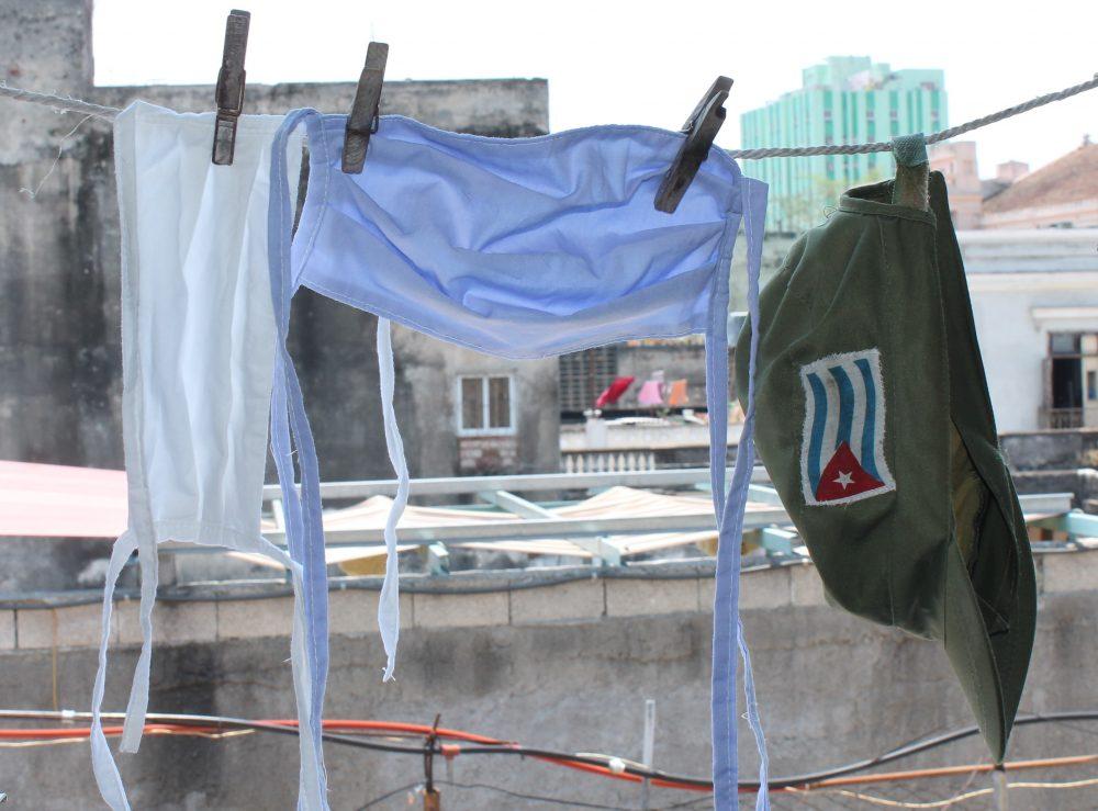 Nasobucos reutilizables en Cuba. Foto: Laura Rodríguez.