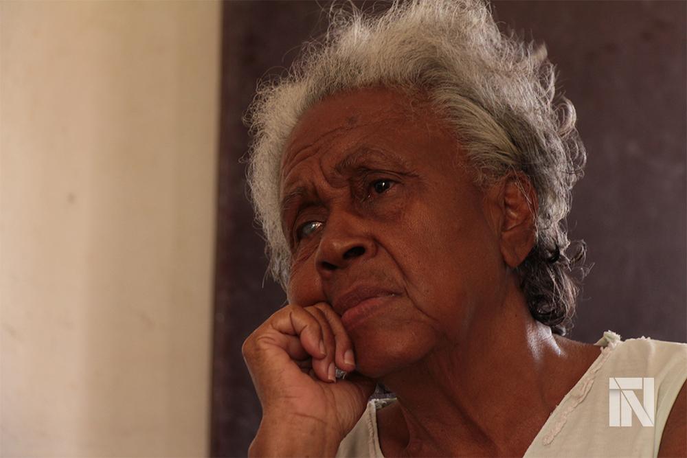 Yolanda, 76 años, habitante de regla. Foto: Hitch.