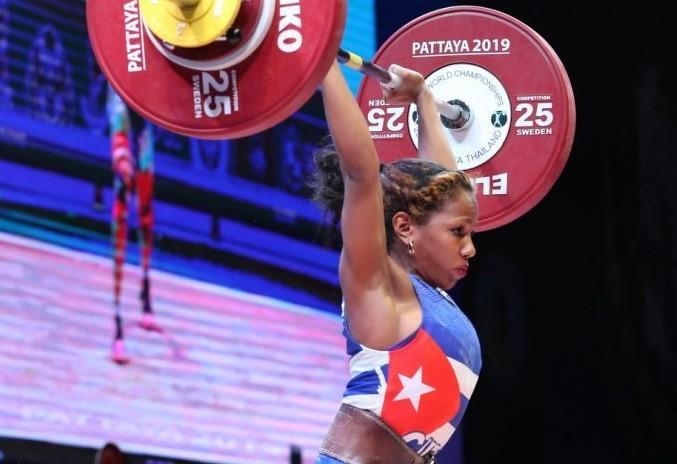 Ludia Montero en el Mundial de Pattaya, Tailandia. (Foto: IWF)