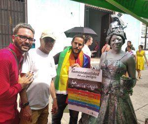 Activista LGBTI+ llamó a estar listos para «más de 6 meses de campaña y arremetida fundamentalista»
